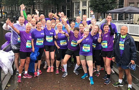 Damloop team WKOF