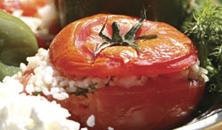 Griekse gevulde groente