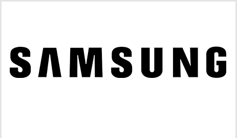 Logo van Samsung