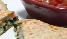 Mexicaanse spinazietosti