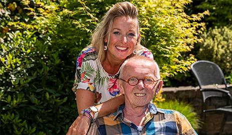 Carlijn en haar vader