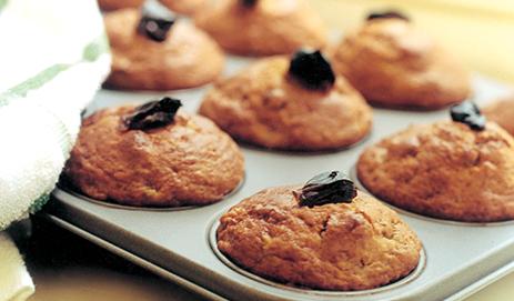 Muffins met banaan en dadel
