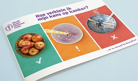 Omslag van brochure Hoe verklein ik mijn kans op kanker?