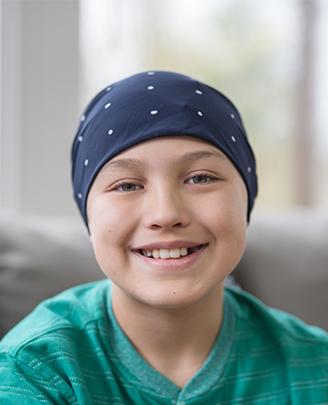 Kind met hoofddoek