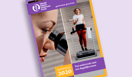 Omslag WKOF jaarverslag 2020