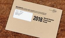 Brief van het Wereld Kanker Onderzoek Fonds