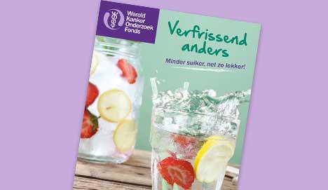 Cover van kookboekje verfrissend anders
