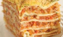 Verse lasagne met peterselie-parmezaansaus
