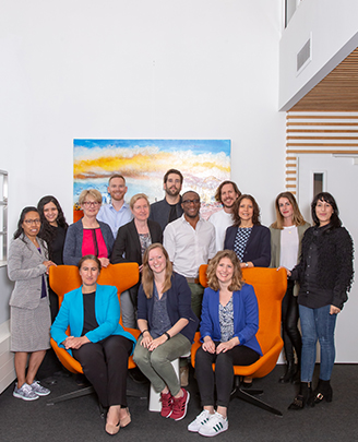 Het team van het Wereld Kanker Onderzoek Fonds