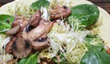 Winterse salade met champignons