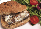 Sardine Salsa Sandwich