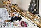 Muziek en mondkapjes