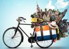 Fiets met Nederlandse beelden